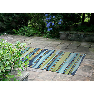 "Home Accents 7'6"" x 9'6"" Rug, Multi, large"