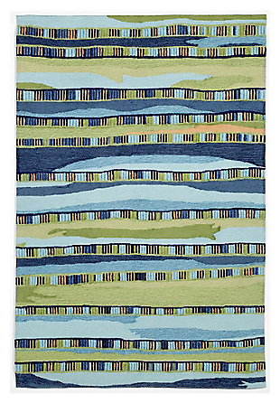 """Home Accents 7'6"""" x 9'6"""" Rug, Multi, large"""