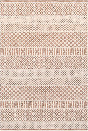 Hand Tufted 8' x 10' Area Rug, Camel/Khaki, rollover