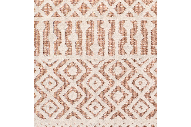 Hand Tufted 8' x 10' Area Rug, Camel/Khaki, large