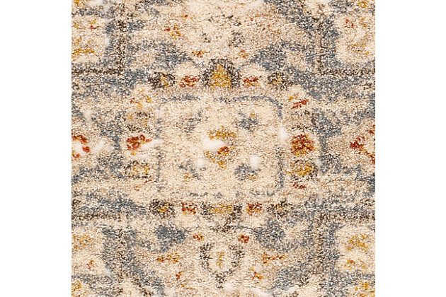 "Machine Woven 7'10"" x 10'3"" Area Rug, Butter/Cream/Champagne, large"