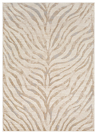 "Machine Woven Greenville 3'11"" x 5'7"" Area Rug, Khaki, large"