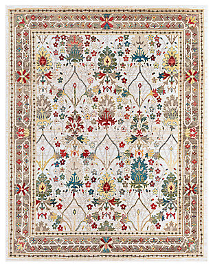 "Machine Woven Crawley 7'10"" x 9'10"" Area Rug, Khaki, large"