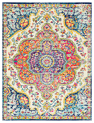 "Machine Woven Elaziz 7'10"" x 10'3"" Area Rug, Saffron, large"