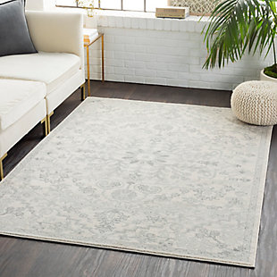 "Machine Woven Harper 7'10"" x 10'3"" Area Rug, Charcoal/Ash Gray/Cream, rollover"