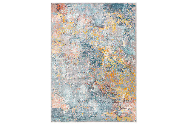"Hand Tufted Mills 6'5"" x 9'2"" Area Rug, Gold, large"
