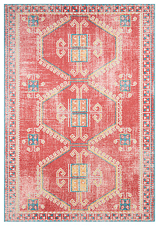 "Machine Woven Murat 5'3"" x 7'3"" Area Rug, Garnet, large"