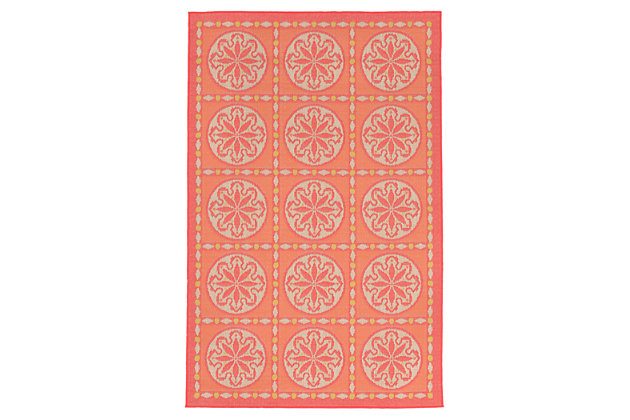 Orange Home Accents 4'10