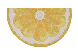 "Liora Manne Deckside Limon Indoor/Outdoor Rug 24"" x 36"", Yellow, rollover"