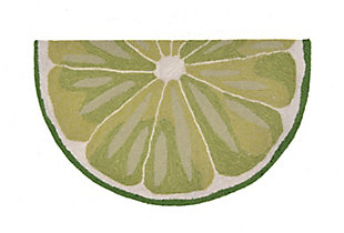 "Liora Manne Deckside Cool Sour Indoor/Outdoor Rug 24"" x 36"", Green, large"