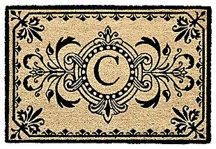 "Liora Manne Hunter Monogram Outdoor Rug 24"" x 36"", , large"