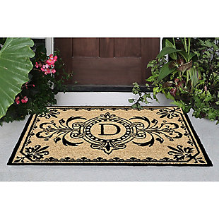 "Liora Manne Hunter Monogram Outdoor Rug 24"" x 36"", , rollover"