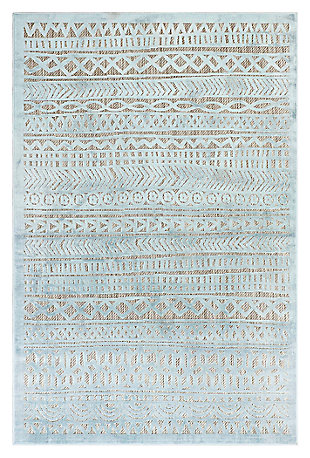 "Liora Manne Taloni Bengal Stripe Indoor/Outdoor Rug 39"" x 59"", , large"
