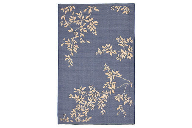 "Home Accents 7'10"" x 9'10"" Indoor/Outdoor Rug, Blue, large"