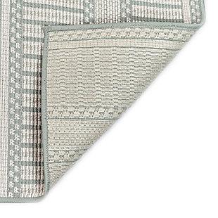 """Liora Manne Westbrook Tailor Stripe Indoor/Outdoor Rug 4'10"""" x 7'6"""", Blue, large"""