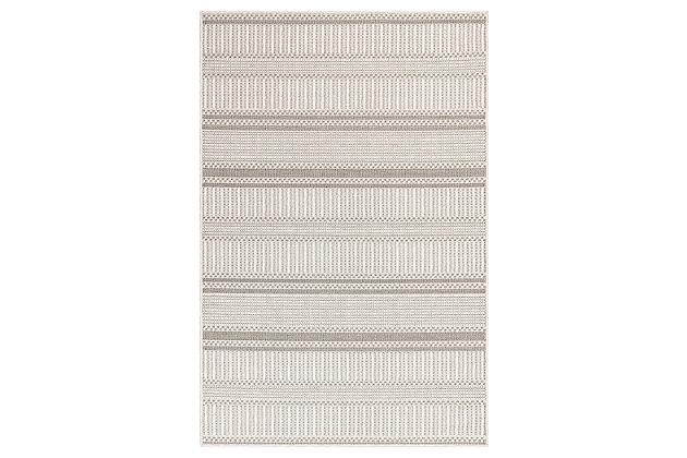 Liora Manne Westbrook Tailor Stripe Indoor/Outdoor Rug , , large