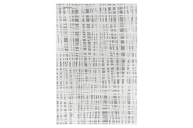 "Liora Manne Taloni Net Indoor/Outdoor Rug 4'10"" x 7'6"", Ivory, large"