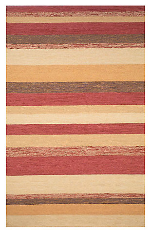 "Home Accents 7'6"" x 9'6"" Indoor/Outdoor Rug, Red, large"