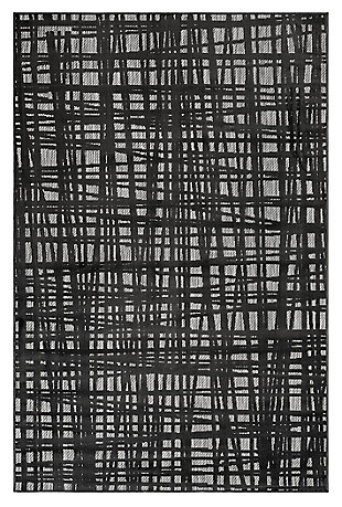 "Liora Manne Taloni Net Indoor/Outdoor Rug 7'10"" x 9'10"", Gray, large"