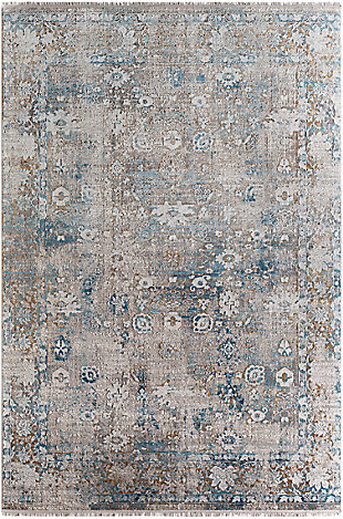 "Machine Woven Solar 5' x 7'6"" Area Rug, Multi, large"