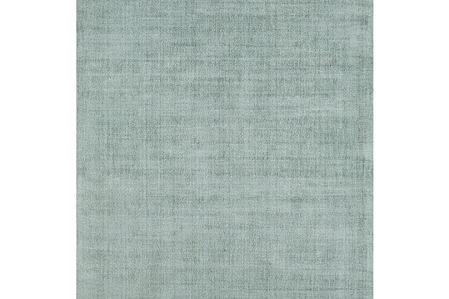 Hand Loomed Wilkinson 2' x 3' Doormat, Sage, large