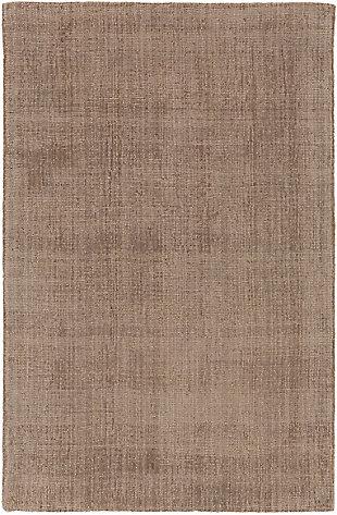 Hand Loomed Wilkinson 2' x 3' Doormat, Dark Brown, large