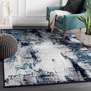 "Machine Woven Wanderlust 5'3"" x 7'3"" Area Rug, Multi, rollover"