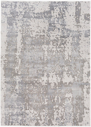 """Surya Amadeo 5'3"""" X 7'3"""" Area Rug, Charcoal/Taupe, rollover"""