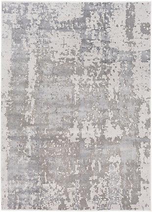 "Surya Amadeo 5'3"" X 7'3"" Area Rug, Charcoal/Taupe, large"