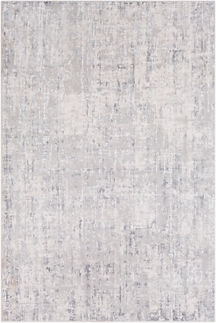 "Surya Aisha 5'3"" x 7'3"" Area Rug, Light Gray/Gray/White, rollover"