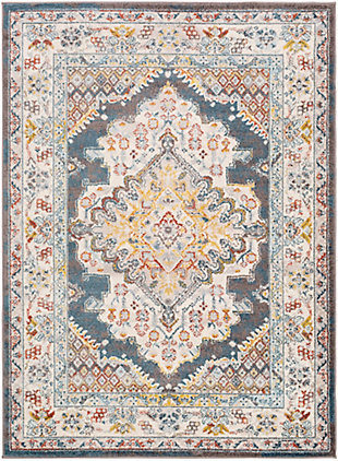 "Surya Ankara 6'7"" x 9' Area Rug, Multi, large"