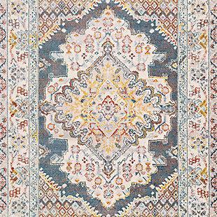 """Surya Ankara 6'7"""" x 9' Area Rug, Multi, large"""