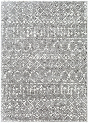 Surya Aliyah Shag 5'3 x 7'3 Area Rug, Multi, rollover