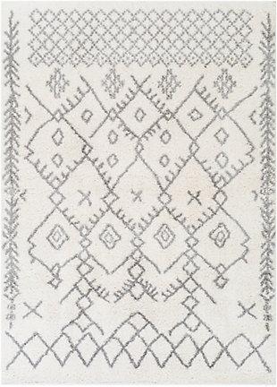 Surya Aliyah Shag 6'7 x 9' Area Rug, Multi, rollover