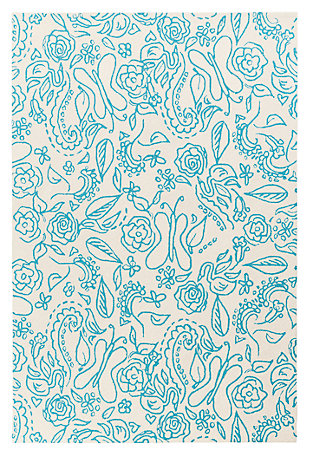 """Home Accents 5' x 7'6"""" Rug, , large"""