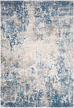 "Surya Alpine 5'3"" x 7'3"" Area Rug, Denim, large"