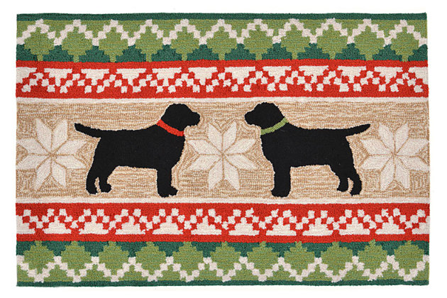 Tan Home Accents Christmas Labs 24
