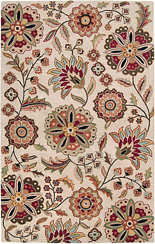 Surya Athena 5' x 8' Area Rug, Multi, large