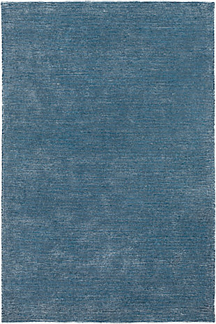 "Surya Austin 5' x 7'6"" Area Rug, Navy/Denim, large"