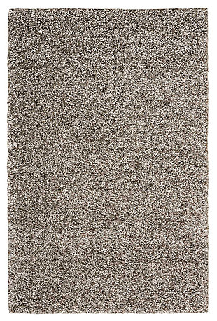 Power Loomed Brisbane Stone 5' x 7' Area Rug, Stone, large