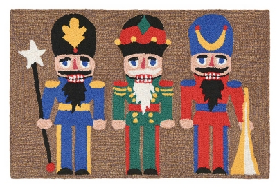 Home Accents 2' x 3' Marching Soldier Indoor/Outdoor Rug, , large