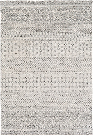 "Surya Indoor/Outdoor 5' x 7'6"" Area Rug, Multi, large"