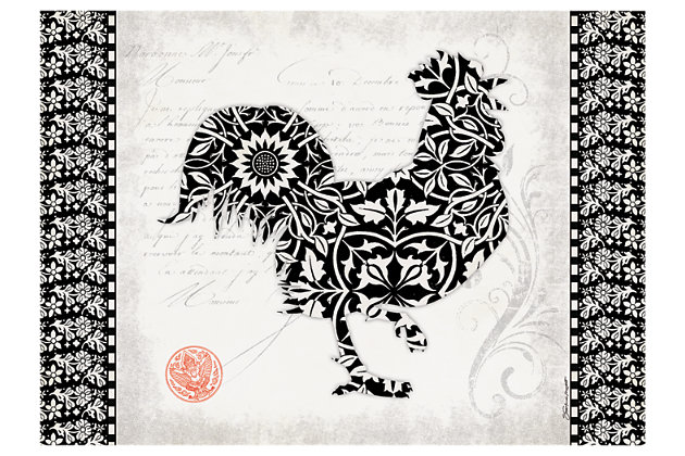 "Home Accents Premium Comfort 1'10"" x 2'7"" Rooster Mat, , large"