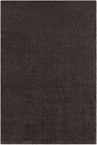 "Surya 5' x 7'6"" Area Rug, Charcoal, large"