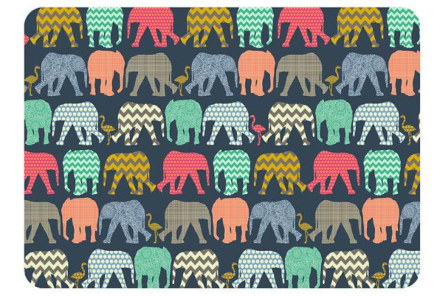 "Home Accents Premium Comfort 22"" x 31"" Elephants Mat by A..."