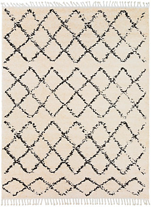 "Surya 7'10"" x 10'2"" Area Rug, Charcoal/Beige, large"