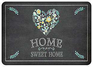 "Home Accents Premium Comfort 1'10"" x 2'7"" Home Sweet Home Mat, , large"