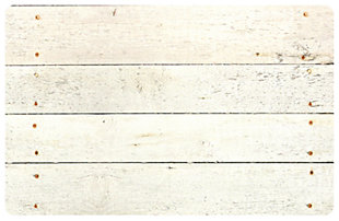 "Home Accents FoFlor 1'11"" x 3' Whitewash Accent Mat, , large"