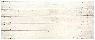 "Home Accents FoFlor 2'1"" x 5' Whitewash Accent Runner, , large"