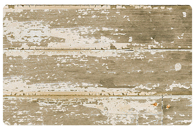 "Home Accents FoFlor 1'11"" x 3' Barnboard Accent Mat, , large"